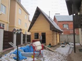 Банька деревянная.