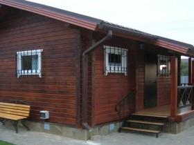 Баня из клееного бруса в Чертовицке