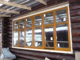 Окна и двери база отдыха
