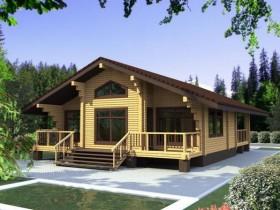 Проект дома из бруса - Легенда 125,3 м2