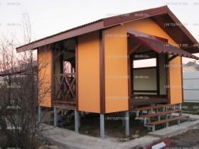 Беседки и мебель из бруса - Бунгало в стиле «Тимберфрейм»