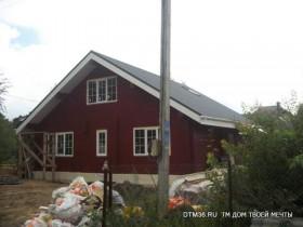 Ямное деревянный дом под ключ