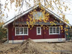Ямное деревянный дом-шале под ключ