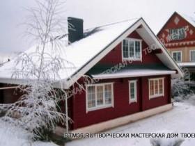 Фотогалерея - Дом-шале деревянный  в Ямном.