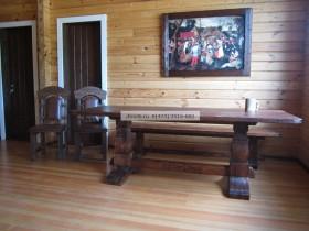 Беседки и мебель из бруса - Эрми
