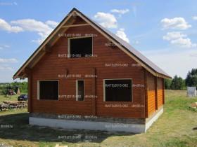 деревянный дом у реки 2