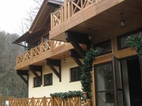 Фотогалерея - Деревянные окна в Олимпийской деревне Сочи-2014.