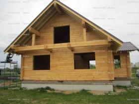 деревянный домик у реки 2