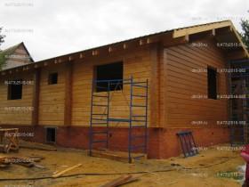 деревянный дом в саду покраска снаружи