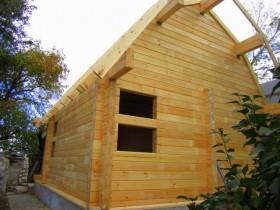 деревянная баня 6