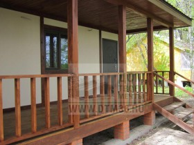 турбаза фахверковый домик с террасой 3