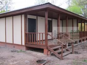 турбаза фахверковый домик с террасой 4