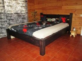 деревянная кровать  2 dtm36.ru сж