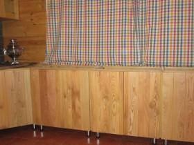 деревянная кухня из лиственницы 1