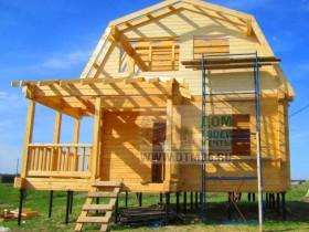 деревянный рыбацкий дом на сваях 3