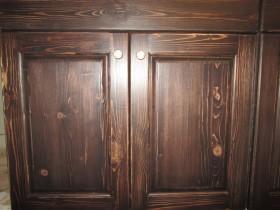 изготовление деревянной кухни 2