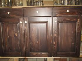 Беседки и мебель из бруса - Новая кухня из дерева.