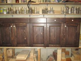 кухня деревянная 1