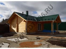 Строительство деревянной баньки Хохол.