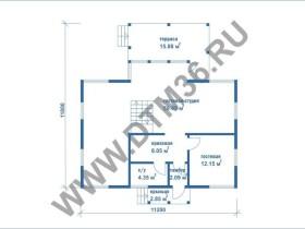 план первого этажа dtm36.ru