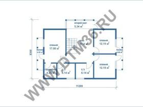план второго этажа dtm36.ru
