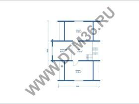 План второго этажа Рамонская сказка