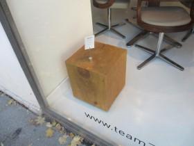 Деревянный куб в интерьере от европейских производителей