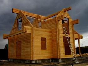 завершена сборка дома в Рамонском районе