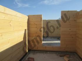 деревянный стеновой комплект дома  отличного качества  из клееного бруса