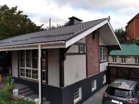 Строительство дома по каркасной технологии в Воронеже 120м2.