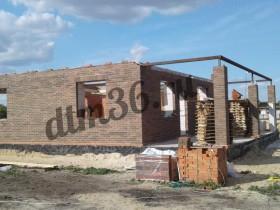 усиление колонн металлическим каркасом, строительство дома.