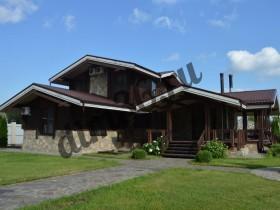 идеальное покрытие для фасадов деревянных домов.