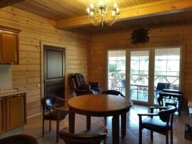 Внутренняя отделка деревянного дома.
