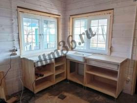 кухня деревянная лиственница 1_dtm36.ru